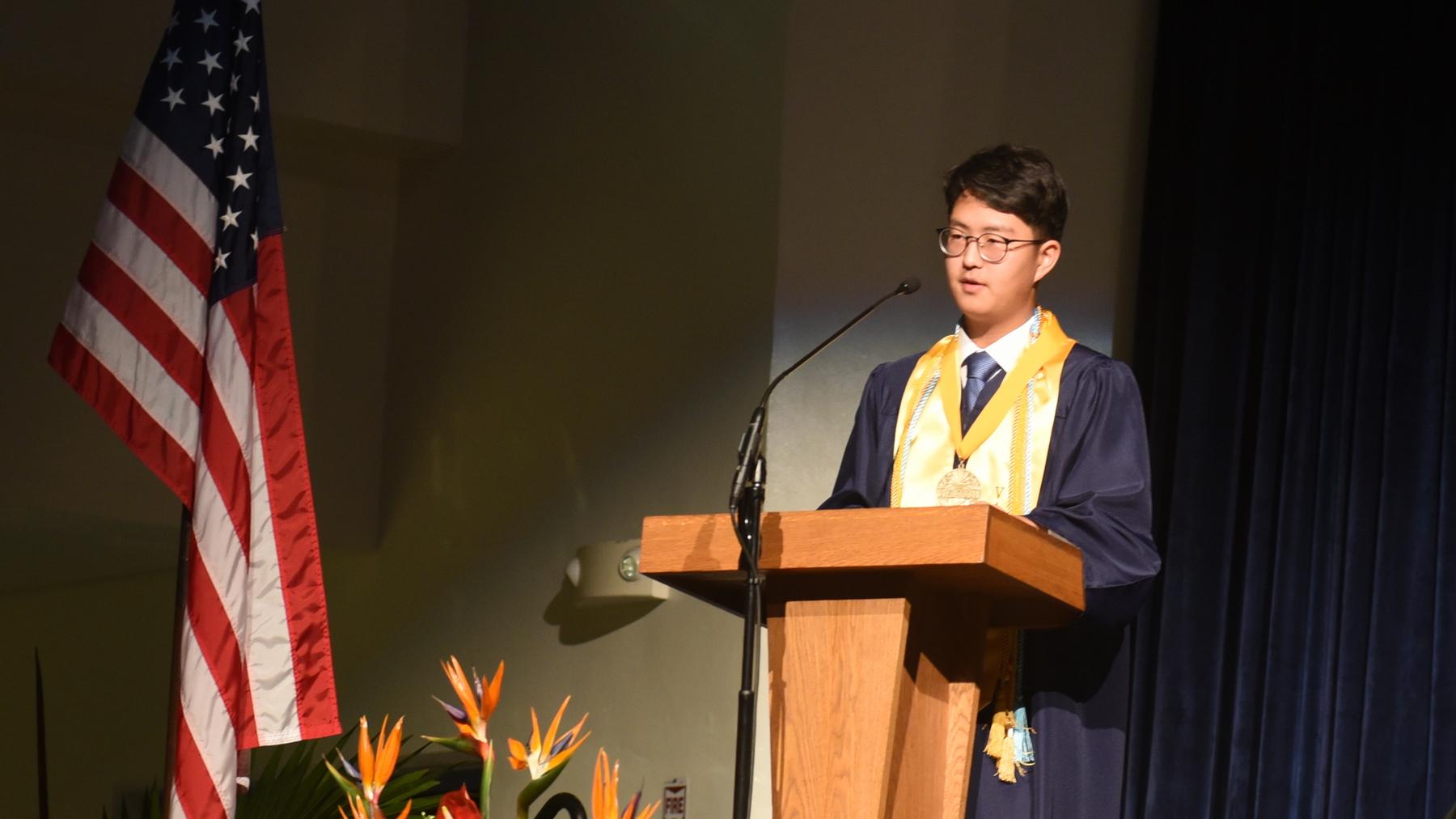 Valedictorian - Sechan Yoon
